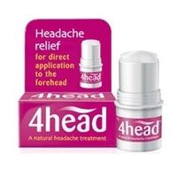 4Head Headache Treatment Stick - 3.6g Stick