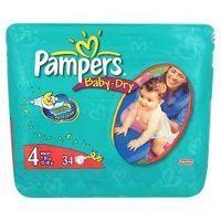 Pampers Baby-Dry 4 Maxi 7-18kg/15-40lbs x 34