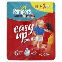 Pampers Progress Easy Up Pants 6 Extra Large 16+kg 35+lbs x 18+2=20