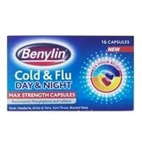 Benylin Day And Night Cold And Flu 16 Capsules