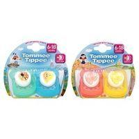 Tommee Tippee Soft Rim Soother (Latex) x2