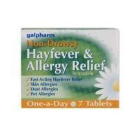 Galpharm Non-Drowsy Hayfever & Allergy Relief 7 Tablets