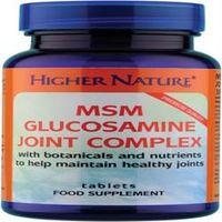 Higher Nature MSM Glucosamine Joint Complex 240Tablets