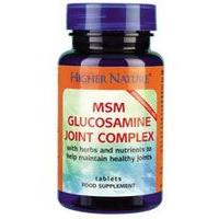 Higher Nature Msm Glucosamine Joint Complex 90Capsules