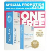 Nourkrin hair loss women - 60 Tablets with FREE Scalp Lotion