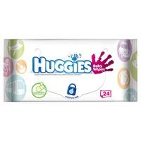 Huggies Baby Wipes On-the-Go 24 Sheets