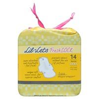 Lil-Lets FreshLOCK Ultra Towels with Wings Normal 14s