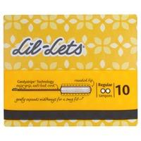 Lil-Lets Non-Applicator Tampons Regular 10s