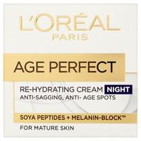 LOreal Paris Age Perfect Re-Hydrating Cream Night 50ml