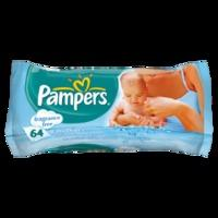 Pampers Baby Wipes Fragrance Free Single Pack 64 Wipes